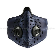 Rockbros Cycling Anti-dust Half Face Mask with Filter Neoprene Blue New