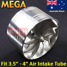 88mm ~ 100mm Air Intake Fan Turbo Supercharger Turbonator Gas Fuel Saver 4 inch