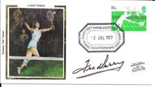 1977 Colorano Lawn Tennis Cover Signed By Fred Perry