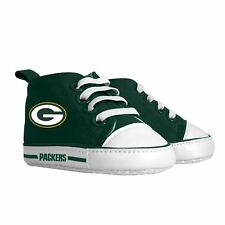 NFL Green Bay Packers High Top Infant Pre Walker Shoes, New