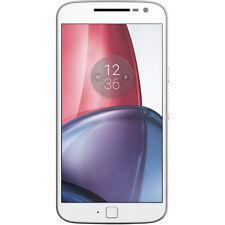 Motorola moto G4 Plus XT1642 16GB un solo Sim 4G LTE Sim Libre/Desbloqueado-Blanco