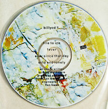 ASSOCIATES CD Fire To Ice SAMPLER 4 Track Fever / Wild And Lonely Custom PVC Slv