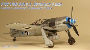 PRO BUILT EDUARD 1/48 Fw 190 A8
