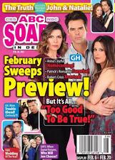 ABC Soaps In Depth Magazine February 20 2012 Finola Hughes Kimberly McCullough