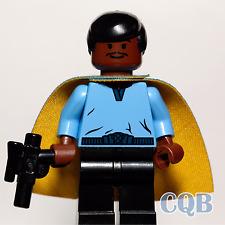 NEW LEGO - Star Wars - Lando Calrissian - Set 10123  with CUSTOM NON LEGO CAPE