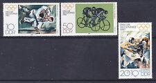 Germany Ddr 2119-20 & B192 Mnh 1980 Summer Olympics Moscow Full Set Vf