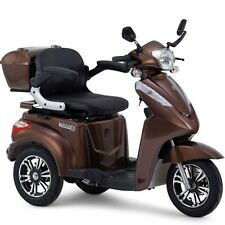 Elektromobil Seniorenmobil Dreirad Elektro Roller, Elektrorollstuhl, S1000 Braun