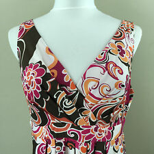 Metro 7 Multi-Color Summer Dress Medium