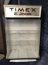 Vintage Timex Watch Display Case