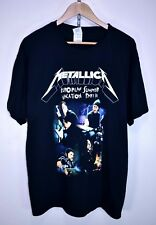 METALLICA EUROPEAN SUMMER VACATION PART III Vintage T-Shirt TOUR CONCERT ALBUM L