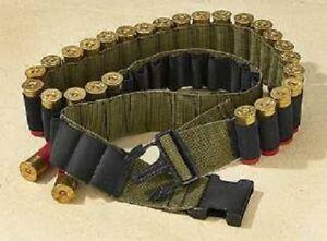 NEW - Tactical Survival Hunting 48 SHOTGUN SHELL Bandoleer Ammo Belt OD GREEN