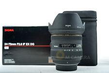 Sigma AF 24-70mm f/2.8 EX DG HSM Lens for Nikon