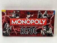 AC DC Monopoly von USAopoly Hasbro Sammleredition Brettspiel Gesellschafts  Eng.