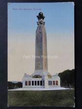 Devon: Plymouth Naval War Memorial - Old Postcard