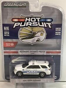 2018 Dodge Durango VA Police USA Police Car 1:64 Scale Greenlight 42900F