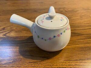 Ceramic Japanese Yokode Kyusu Side Handle Teapot with strainer 1 cup