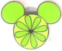 Disney Pin Collection Hidden Mickey 2007 Series 2 Fruit Lime WDW World