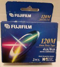 Fujifilm DDS Two (2) Pack 120M 4 mm Data Tape NIP NEW