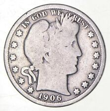 1906-O Barber Half Dollar - Charles Coin Collection *319
