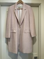 Zara Woman Dusty Pink Long Light Coat Size M