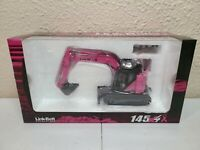 Link-Belt 145 X4 Spin Ace Excavator - Breast Cancer Pink - 1:50 Scale Model New!