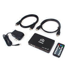 2D To 3D Converter 2HDMI 1.4 HD 120Hz Video Fr Ready DLP Projector w/ Controller