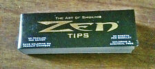 Zen (No Chemicals) Rolling Tips For Cigarette Paper Filters  - Lot of 5 Books