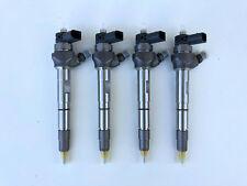 4 New OEM BOSCH Fuel Injectors Audi A4,A5,Q3,TT  VW PASSAT 2.0TDI  0445110471