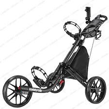 CaddyTek EZ-Fold 3 Wheel Golf Push Cart Golf Trolley -Dark Grey **NEW**