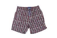 Vtg 90s Streetwear Mens Medium Abstract Fresh Prince Lined Swim Trunks Shorts