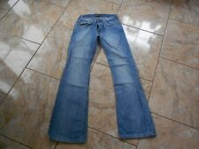 H7975 Lee Denver Jeans W29 L32 Mittelblau Unifarben Gut