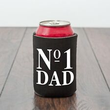 No 1 Dad beer can cooler/Father/Dad/beer lover/Drinking/Drinks gift/Novelty gift