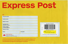 10 x 500g AUSTRALIA POST Express Post SATCHELS (lot 11)