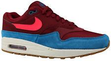 Nike Air Max 1 Herren Sneaker Turnschuhe Leder rot AH8145-601 Gr. 40 - 42,5 NEU