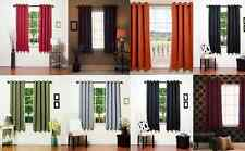 """1 PANEL GROMMET WINDOW CURTAIN FOAM LINED BLACKOUT THERMAL SOLID COLORS 63""""k34"""