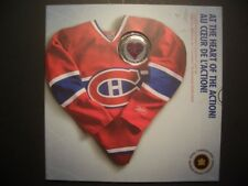 2009 NHL Montreal Canadiens Coin Set with jersey colour dollar, loonie, RARE !