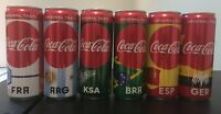 Saudi Arabia Coca-Cola FIFA 2018 set Cans commemorative Football