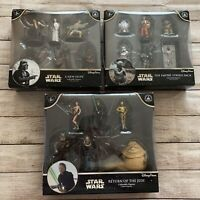 Disney Parks Star Wars Collectible Figures NH, ESB & RotJ Bundle