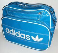 ADIDAS ORIGINALS MESSENGER SATCHEL BAG Blue Laptop Shoulder Crossbody Strap
