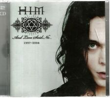 HIM - And Love Said No...1997-2004 (2004)...2 Discs CD+DVD Used VG....