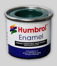 MATTE DECK GREEN HUMBROL Enamel Model Paint - 14ml Tin #88