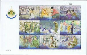 H.M. the King's 6th Cycle Birthday Anniversary (III) (126) (MNH)