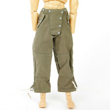1/6 WWII German Sodier Pants Figure Clothes Trousers For 12'' Action Figure Body