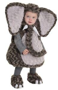Elephant Toddler Child Costume Boys Gray Cute Animal Plush Halloween