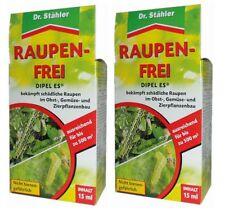 Oleanderhof® Sparset: 2 x DR. STÄHLER Dipel ES Raupenfrei, 15 ml + gratis Oleand