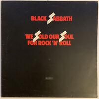 BLACK SABBATH WE SOLD OUR SOUL FOR ROCK N ROLL 2-LP NEMS UK FIRST PRESS 1970