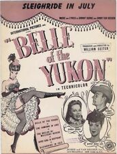 Sleighride In July, Belle of the Yukon, Gypsy Rose Lee, Dinah Shore, 1944