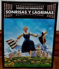 SONRISAS Y LAGRIMAS DVD NUEVO PRECINTADO SLIPCOVER MUSICAL (SIN ABRIR) R2