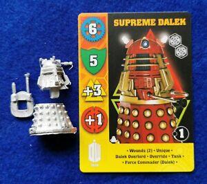 Dr Who Exterminate game miniature of Supreme Dalek