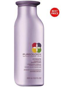 Pureology Hydrate Shampoo 8.5oz/250ml, NEW